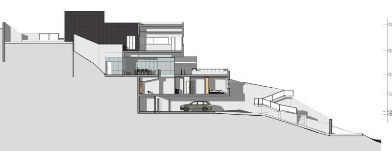 progetto-casa-unifamiliare-due-piani-sezione C-C