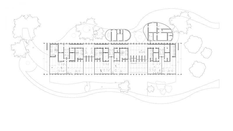 progetti di edifici scolastici - pianta