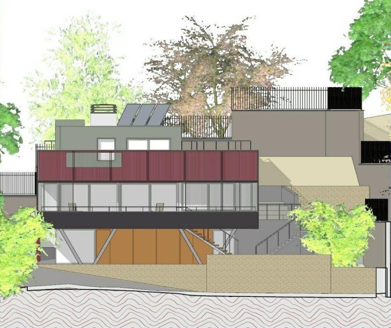 progetti di case unifamiliari prospetti