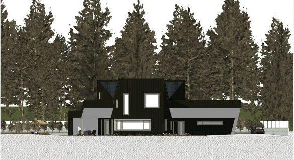 progetti case unifamiliari - prospetto