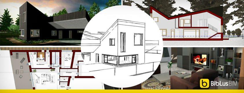 progetti case unifamiliari