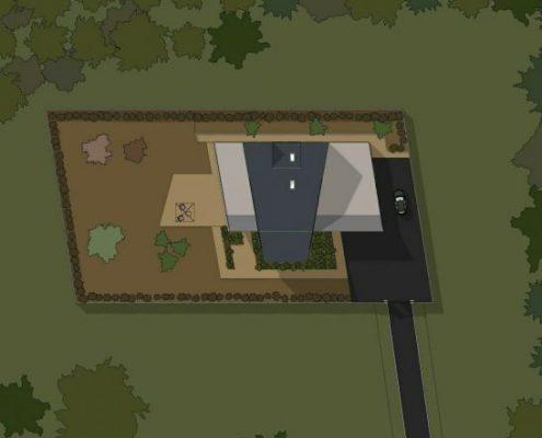 progetti case unifamiliari - planimetria