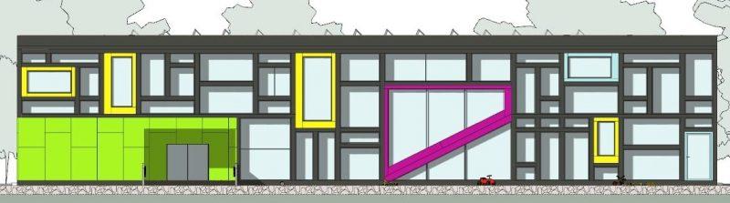 progetti edifici scolastici - prospetti
