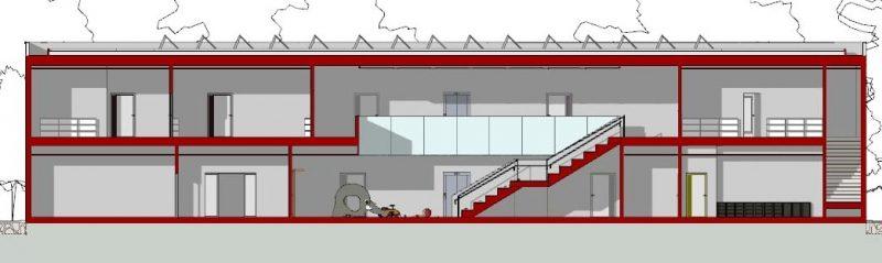 progetti edifici scolastici - sezioni