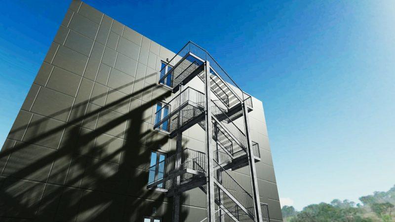 Progettazione Scale Normativa : Progettazione scale antincendio linee guida norme esempi