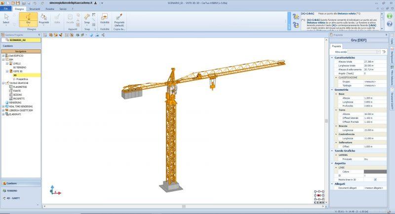 Il bim nella modellazione 3d del cantiere caratteristiche for Programma per 3d interni