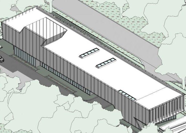 progettazione strutture sanitarie - assonometria