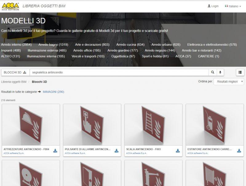 progettare le scale antincendio - libreria oggetti BIM