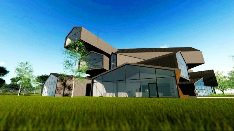 progettare un museo - VitraHaus