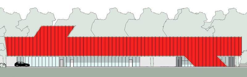 progettazione strutture sanitarie - prospetto