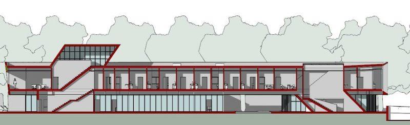 progettazione strutture sanitarie - sezione