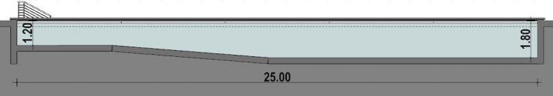 Progetto piscina - piscina-semiolimpionica-sezione