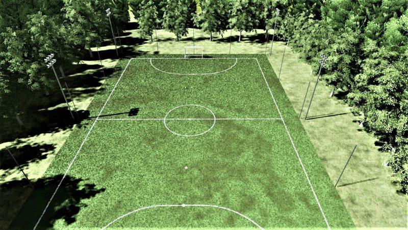 progetto di un campo da calcetto-2