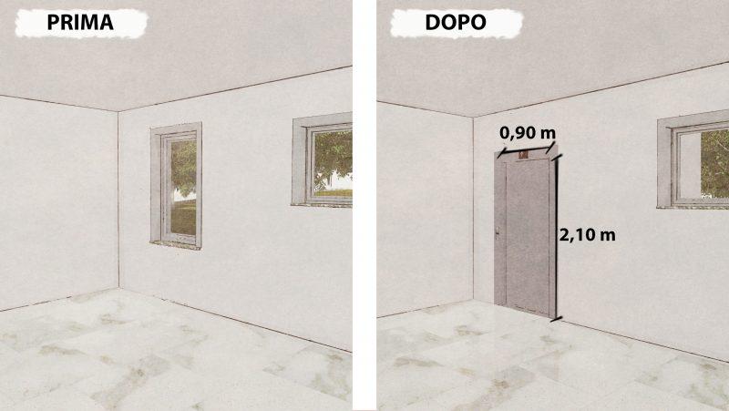 abbattimento delle barriere architettoniche - ascensore1