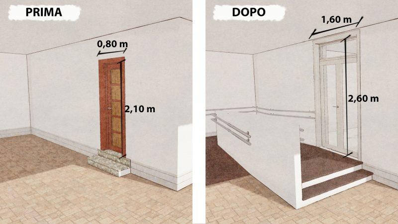 abbattimento delle barriere architettoniche - rampa2