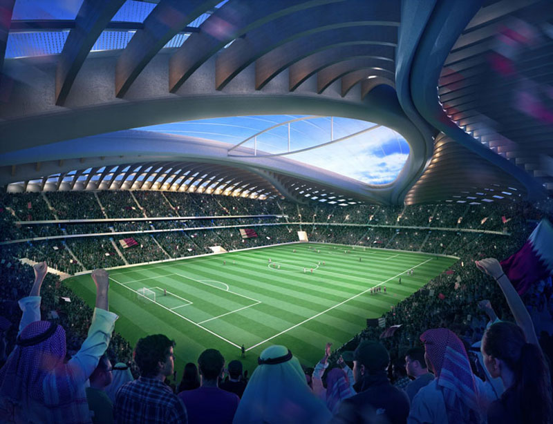 mondiali 2022 - stadio qatar