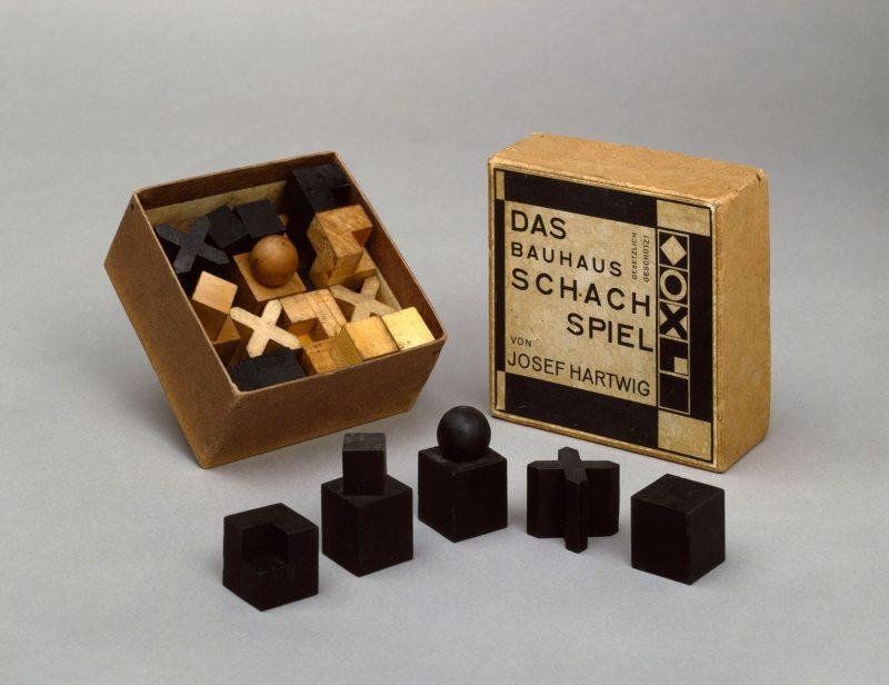 Bauhaus art - scacchi Hartwig