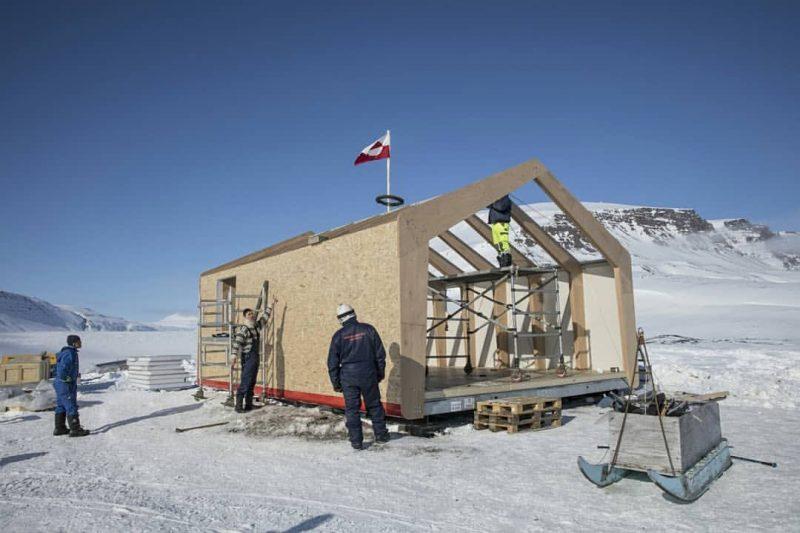 casa modulare in artico