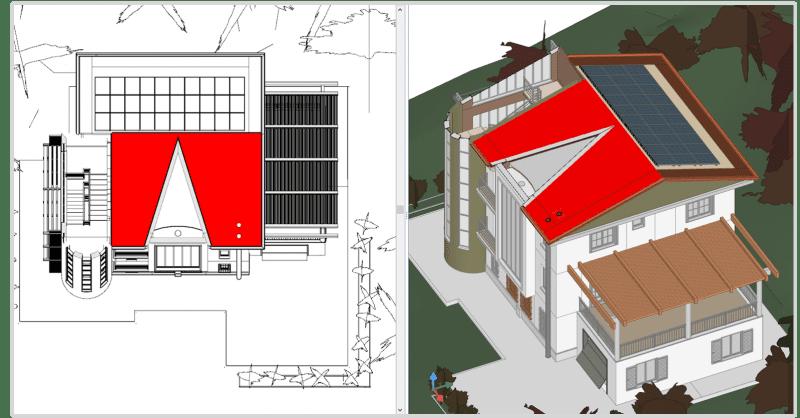 progettazione di impianti fotovoltaici integrazione-con-progetto-architettonico