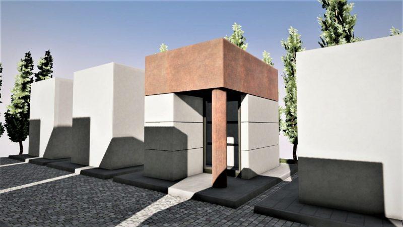 progetto di edicola funeraria