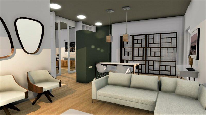 progetto di ristrutturazione di un appartamento _ interni_dopo2