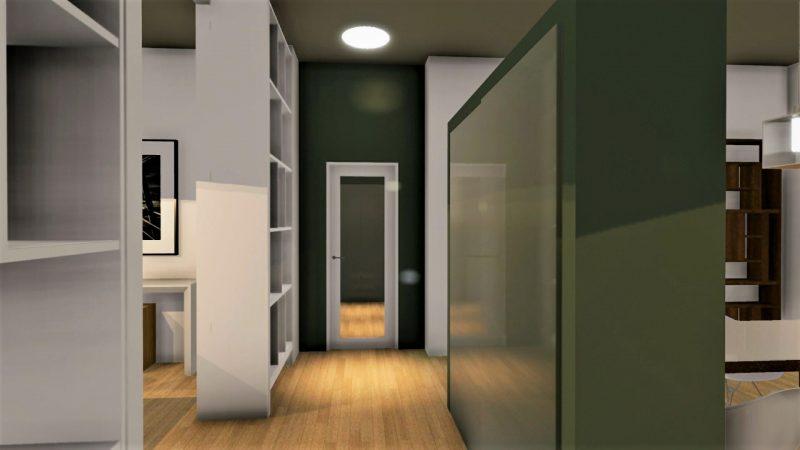 progetto di ristrutturazione di un appartamento _ interni_dopo3