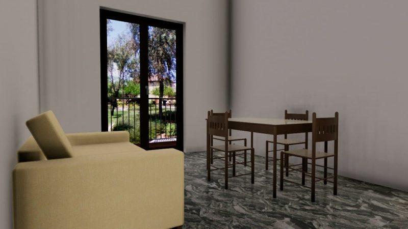 progetto di ristrutturazione di un appartamento _ interni_prima1