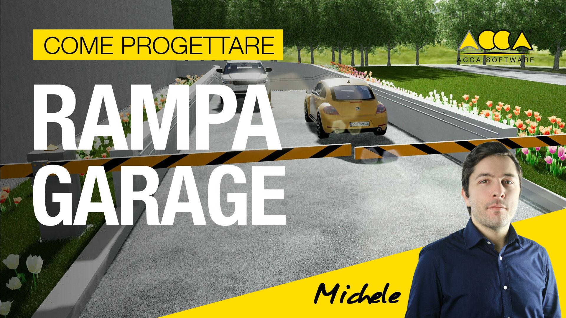 progetto rampa garage