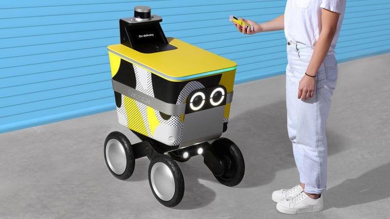 controllo robot consegne domicilio