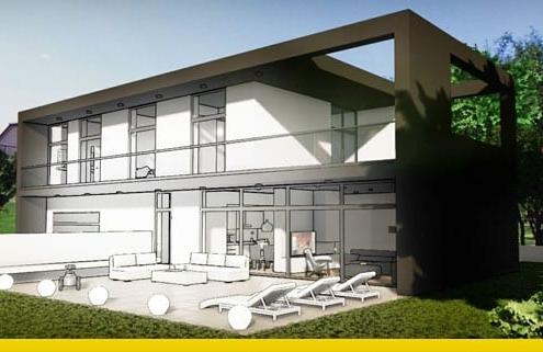 progetto di una casa unifamiliare