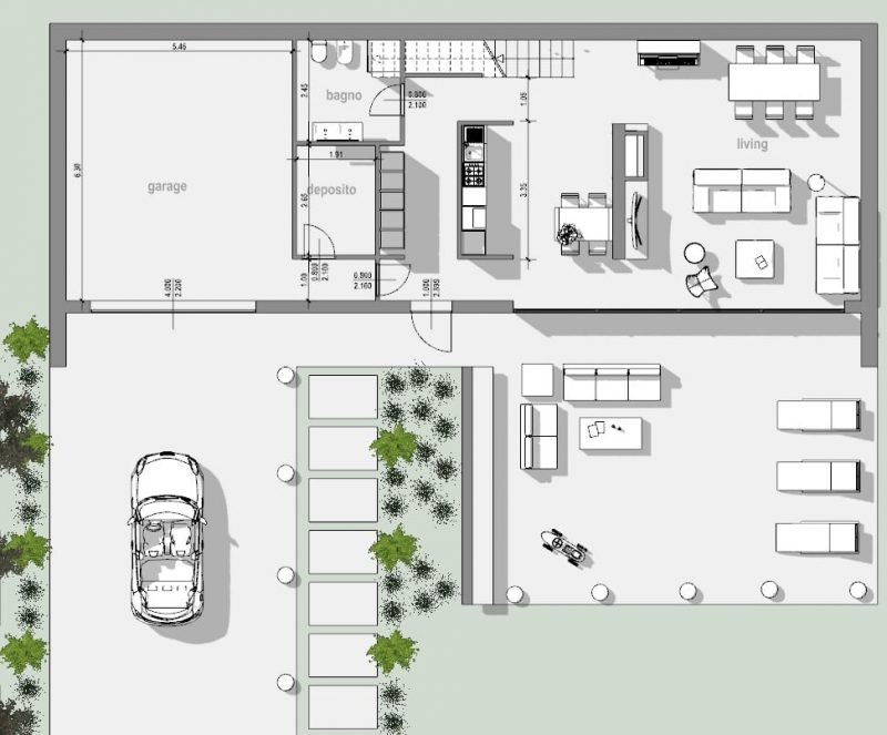 Progetto casa unifamiliare la guida tecnica bibllus bim - Programmi progettazione casa gratis ...