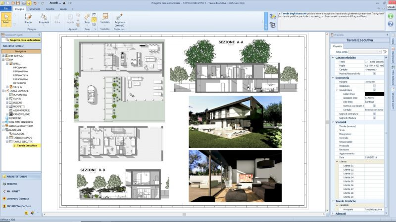 Progettazione Casa 3d : Progetto casa unifamiliare la guida tecnica bibllus bim