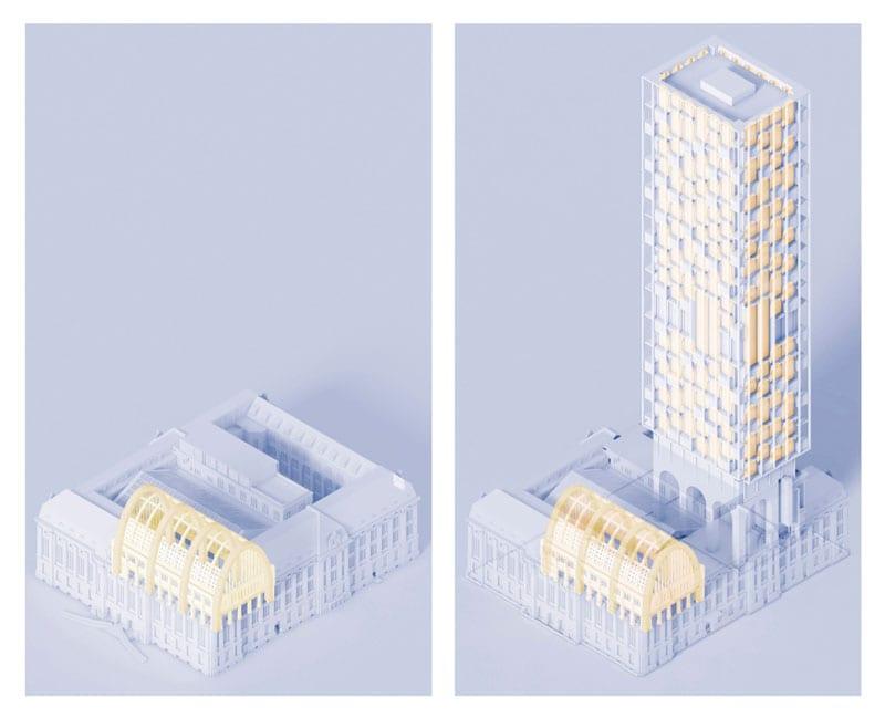 progetto poste Rotterdam