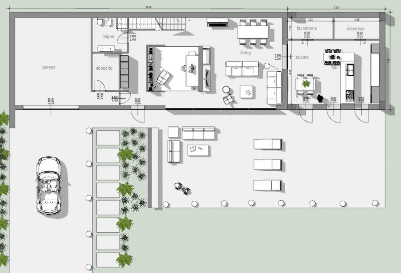 piano-casa-pianta-piano-terra-progetto