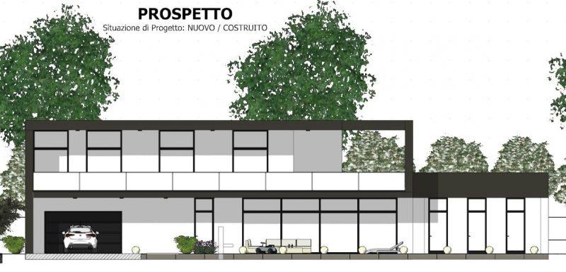 piano casa - prospetto-progetto