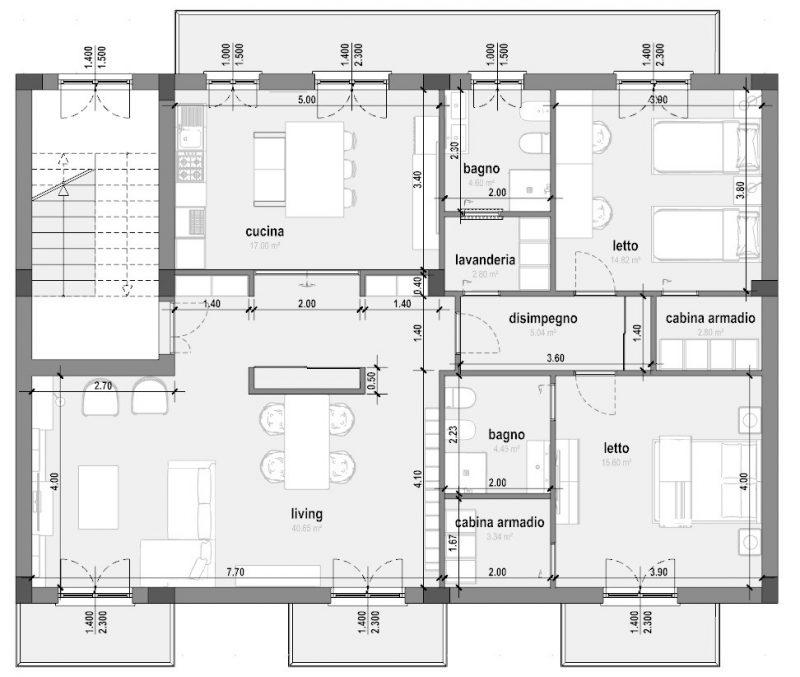 Guida al progetto di ristrutturazione di un appartamento for Esempi di ristrutturazione appartamento