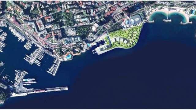 ampliamenti Principato di Monaco - portier cove