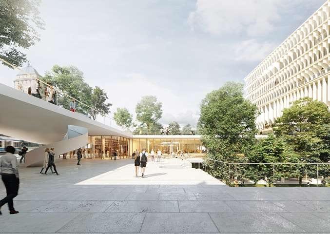 università di Zurigo - Herzog & de Meuron forum uzh