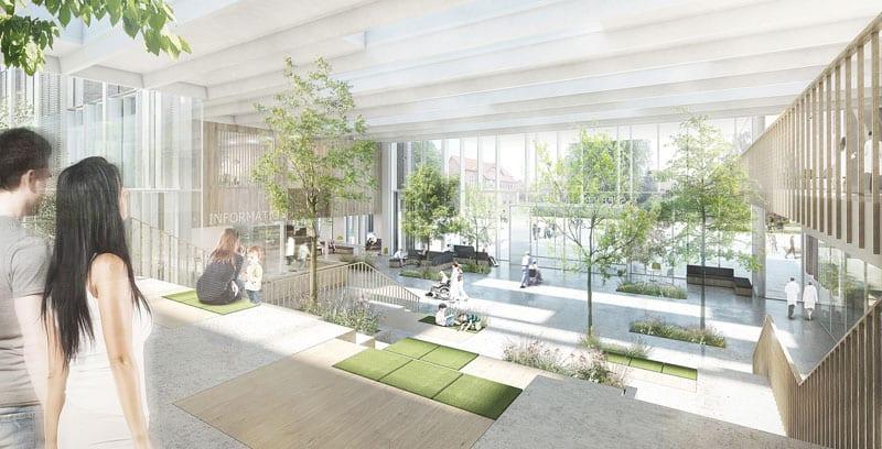 progettazione degli ospedali - Danimarca