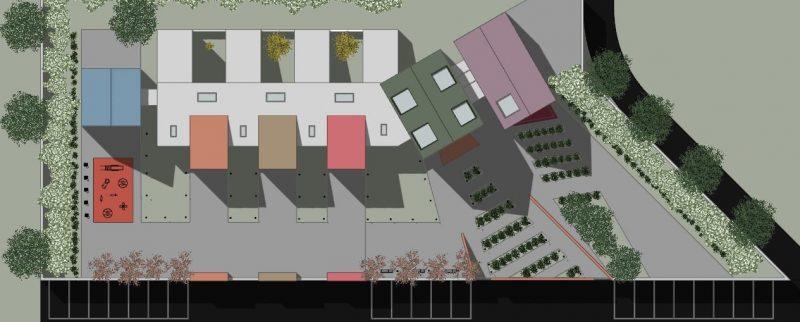 progettazione di un asilo nido - planimetria