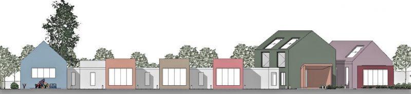 progettazione di un asilo nido - prospetto1