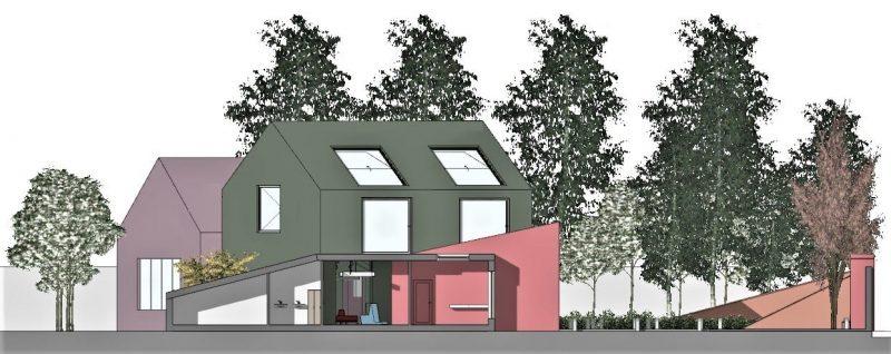 progettazione di un asilo nido - sezione-b-b
