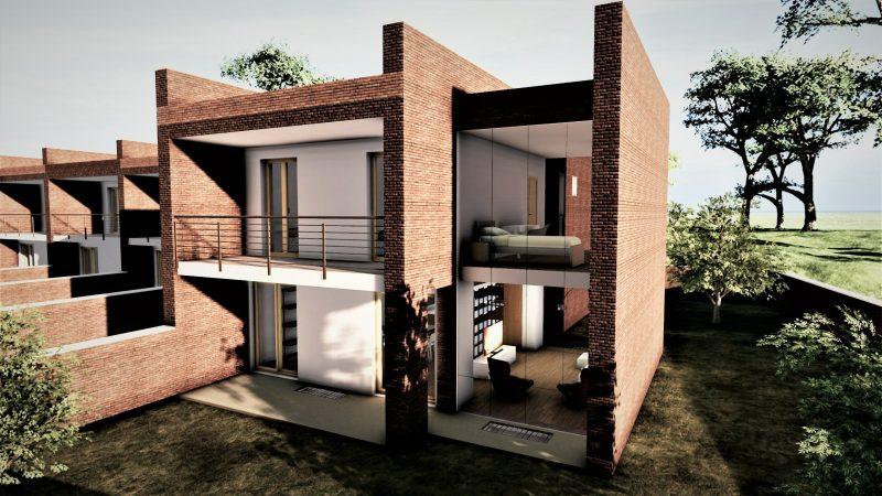 progetto di case a schiera _02