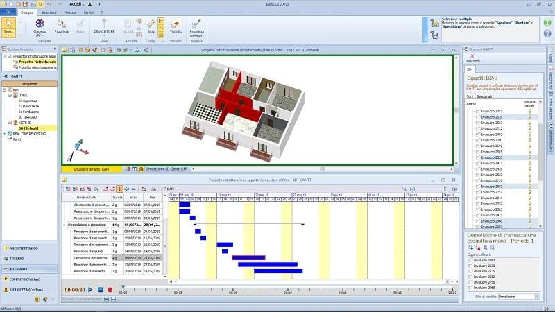 cronoprogramma BIM 4D