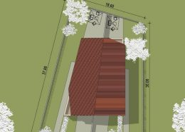 Casa bifamiliare | Planimetria generale