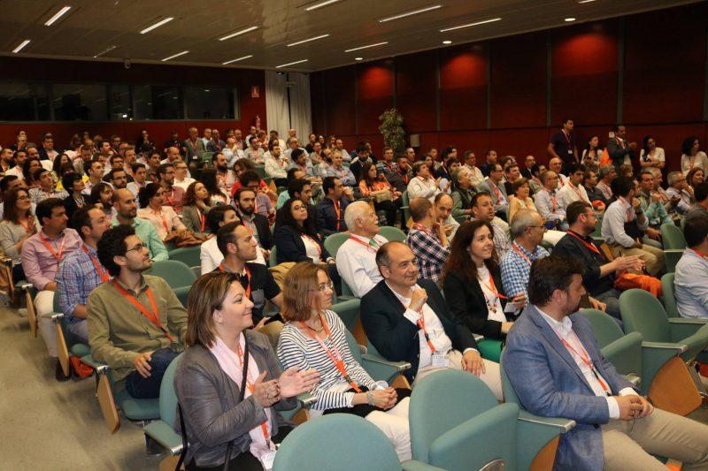 EUBIM di Valencia (Spagna) 2018 - Conferenza nell'aula Magna