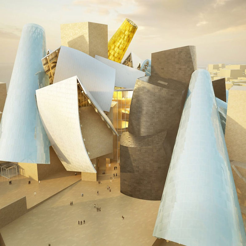 Guggenheim Abu Dhabi di Frank O. Gehry