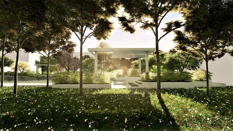 progettazione delle aree verdi - Spazio multifunzionale