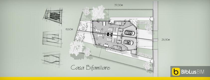 Come progettare una casa bifamiliare guida con esempio da for Progettare una casa