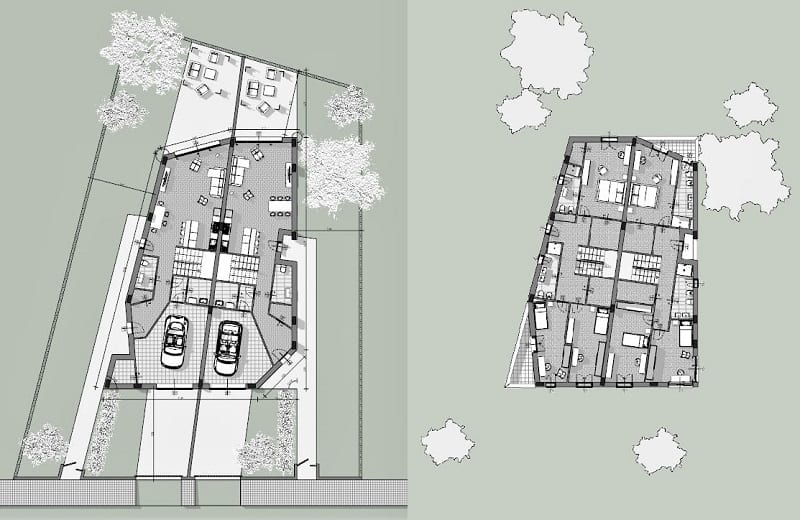 casa bifamiliare o binata
